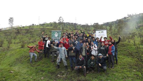 Limpiatón y reciclaje en Cerro Renca