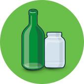 Botellas y Frascos de Vidrio