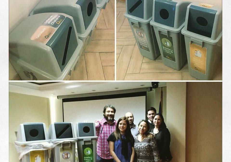 Estación de Reciclaje para ChileCompra