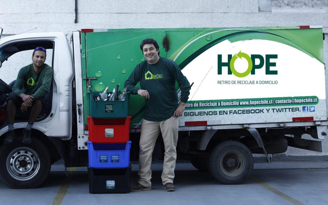 Hope prepara lanzamiento para ser el primer punto limpio inteligente de Chile
